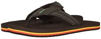 Sanuk Beer Cozy Stacker (Black) Men's Shoes
