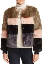 Vero Moda Dona Short Faux Fur Jacket