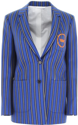 Calvin Klein Striped Jacket