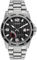 Citizen Men's Eco-Drive Sport Stainless Steel Bracelet Watch 41mm AW7030-57E