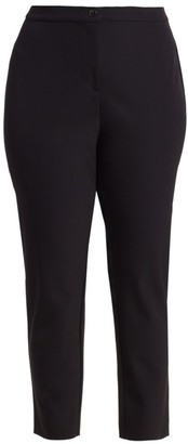 Marina Rinaldi, Plus Size Registro Technical Fabric Skinny Pants