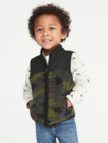 Old Navy Pieced Yoke Performance Fleece Vest for Toddler Boys
