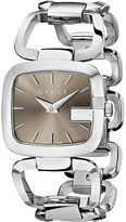 Gucci G 32mm Stainless Steel Bracelet Watch-YA125402 Watches