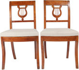 One Kings Lane Vintage English Duncan Phyfe-Style Chairs, Pair