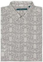 Perry Ellis Linear Geo Print Shirt