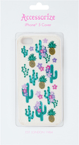 Accessorize Embroidered Cactus iPhone 5 Cover