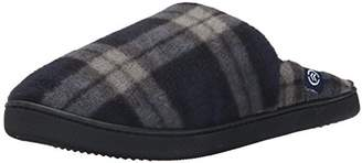 Isotoner Men's Fleece Clog Thinsulate Flat