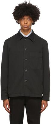 Barena Black Cedrone Overshirt