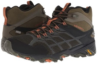 Merrell Moab FST 2 Mid Waterproof (Olive/Adobe) Men's Hiking Boots
