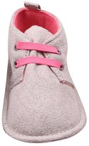 YOUJIA Lace-Up First Walkers Shoes Anti-Skid Soft Shoe Unisex Baby Prewalker Shoe