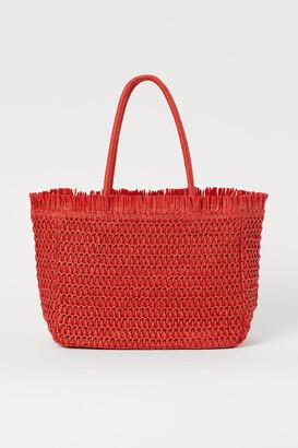 H&M Paper Straw Shopper