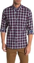 Tailorbyrd Plaid Print Woven Shirt