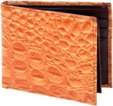 Lord West Men's Exotic Bi-Fold Leather Wallets with Flipout ID