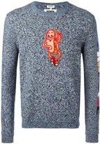Kenzo hot dog patch jumper - men - Cotton - XS