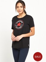 Converse Core Solid Chuck Patch Crew T-Shirt