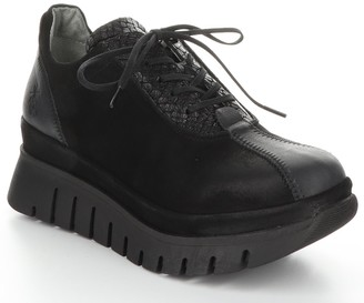 Fly London Leather Rubber Heel Shoes - Besi