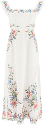 Zimmermann Juliette Dress With Embroidery