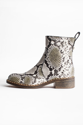 Zadig & Voltaire Empress Wild Ankle Boots