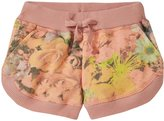 Stella McCartney Cleo Floral Knit Shorts (Baby) - Pink-24 Months