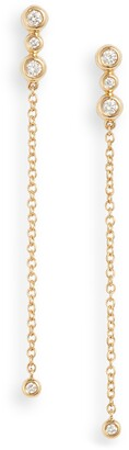 Bony Levy Monaco Chain Drop Earrings