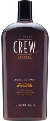 American Crew Firm Hold Gel 1000ml (Worth 42.00)