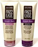John Frieda Frizz Ease Smooth Start Repairing, DUO set Shampoo + Conditioner, 10 Ounce, 1 each