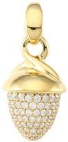 Tamara Comolli Mikado Bouquet 18K Yellow Gold & Diamond Pave Acorn Pendant