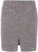 Dorothy Perkins Pink And Black Boucle A-Line Skirt