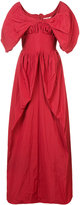 Brock Collection ruched detail gown