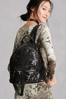 Forever 21 FOREVER 21+ Alex And Max Sequined Backpack