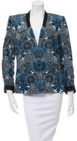 Helmut Lang Paisley Printed Single-Button Closure Blazer w/ Tags