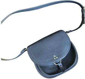 Jerome Dreyfuss Anthracite Leather Handbags