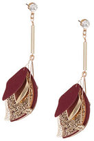 Expression Luxe Leaf Drop Earrings