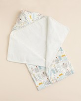 DwellStudio Skyline Hooded Towel