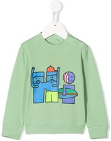 Stella McCartney surfer print sweatshirt