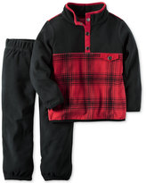 Carter's 2-Pc. Plaid Pullover & Pants Set, Baby Boys (0-24 months)