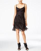 Jessica Simpson Capri Faux-Suede Fringe Dress