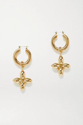 Laura Lombardi Santina Gold-plated Hoop Earrings - one size