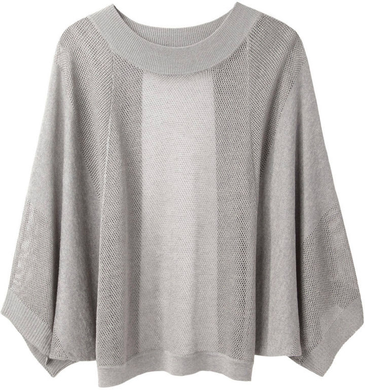 VPL backless drop needle pullover