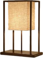 Cotswold Grey - Skansen Table Lamp - Copper/White