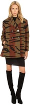 Vivienne Westwood Tiger Stripe Blanket Princess Car Coat
