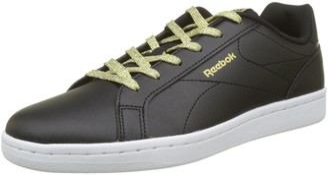 Reebok Women's's Royal Complete CLN Low-Top Sneakers Black/Pure Copper 4.5 UK
