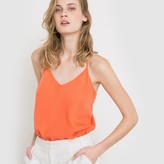 La Redoute Collections Softly Draping Racer Back Top