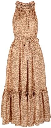 Zimmermann Kirra leopard-print silk maxi dress