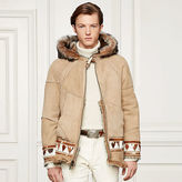 Ralph Lauren Purple Label Clerk Shearling Jacket