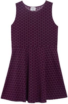 Leota Ava Jacquard Dress (Plus Size)