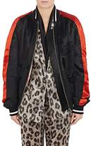 Haider Ackermann Women's Mixed-Media Bomber Jacket