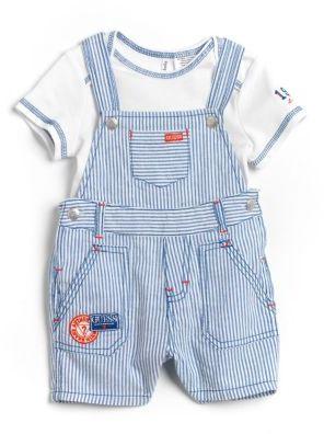 GUESS Newborn Boys 0-9 Months Two-Piece Set