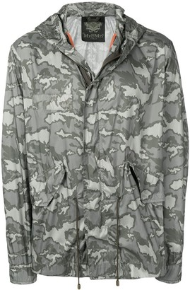 Mr & Mrs Italy Camouflage Print Raincoat