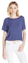 Volcom Juniors' Oh Crop Stripe T-Shirt